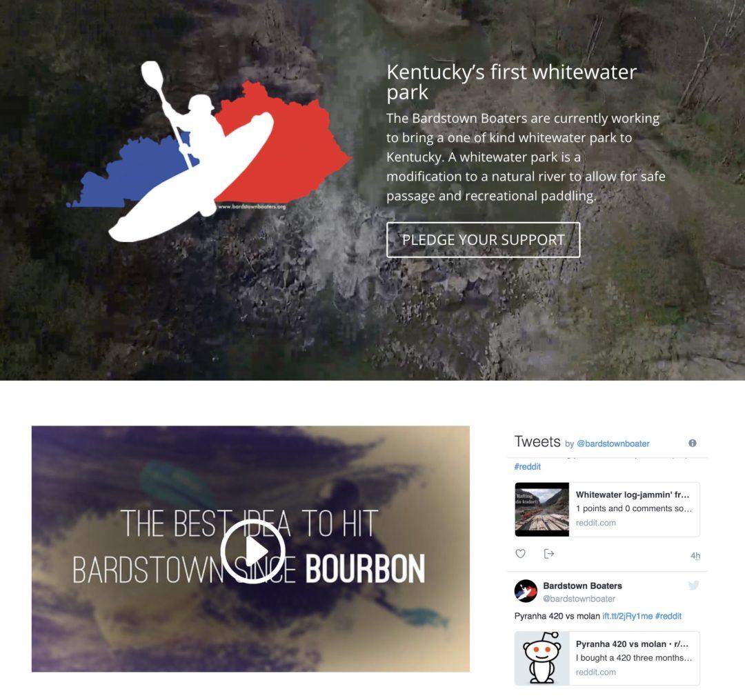 Bardstown Boaters Web Design - Spalding Hurst